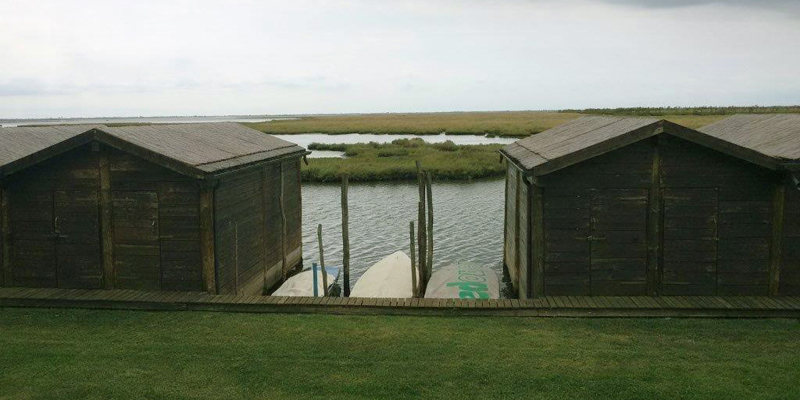 Private mooring close to the Project site